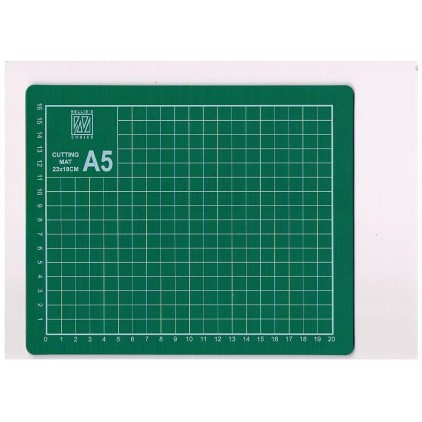 Cutting mat for handicrafts - self-healing - A5