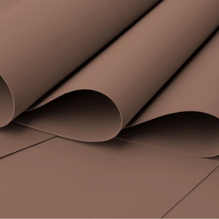 Foamiran, pianka artystyczna - 0,6 mm - ciemny brąz