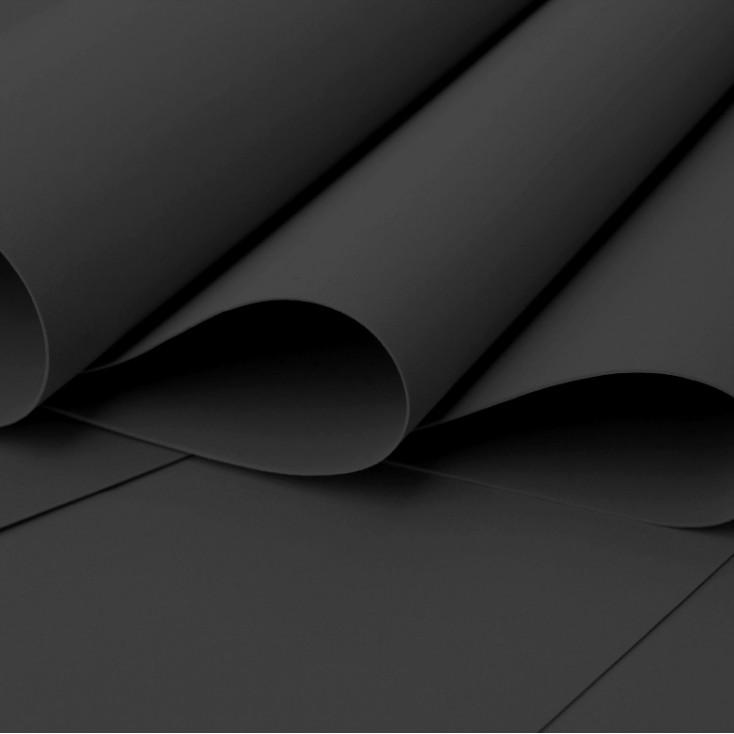 Foamiran, pianka artystyczna - 0,6 mm - czarna
