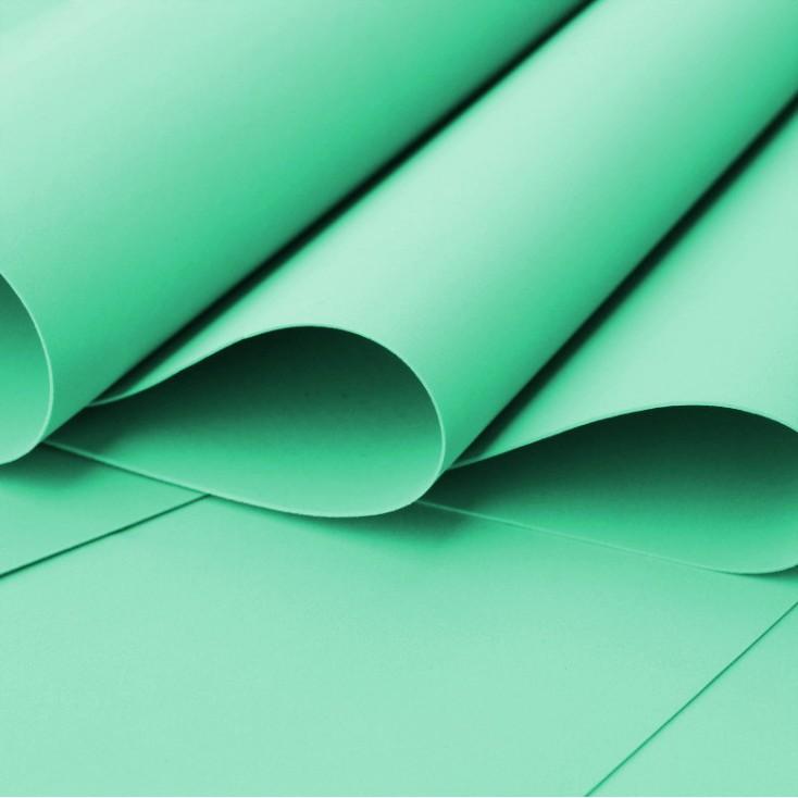 Foamiran, pianka artystyczna - 0,6 mm - seledynowy