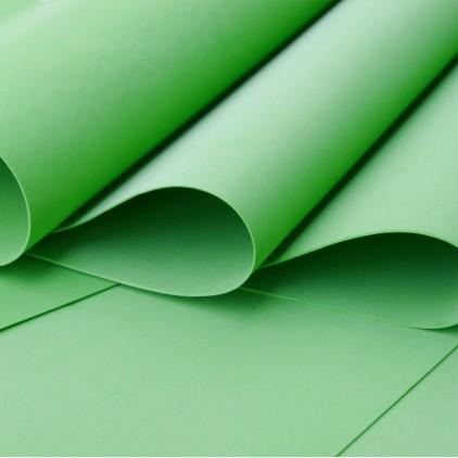 Foamiran, pianka artystyczna - 0,6 mm- zielony