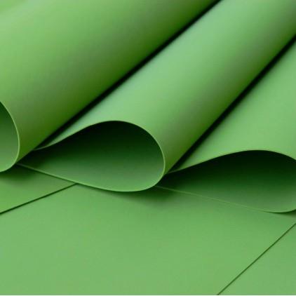 Foamiran, pianka artystyczna - 0,6 mm- ciemny zielony