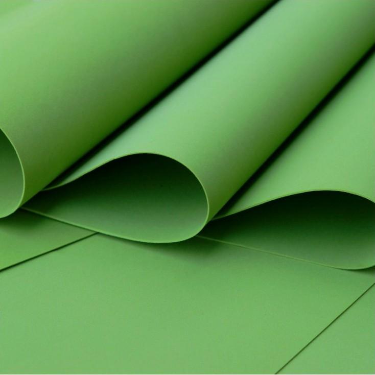 Foamiran, artistic foam - 0,6 mm - dark green