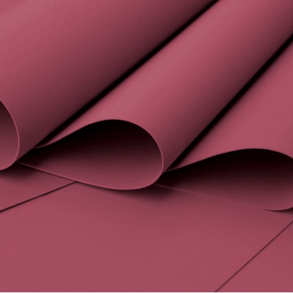 Foamiran, artistic foam - 0,6 mm - burgundy