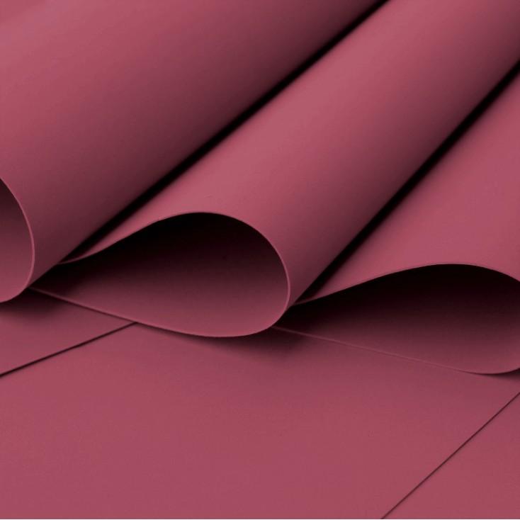Foamiran, artistic foam - 0,6 mm - burgundy