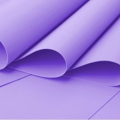Foamiran, pianka artystyczna - 0,6 mm - fioletowa