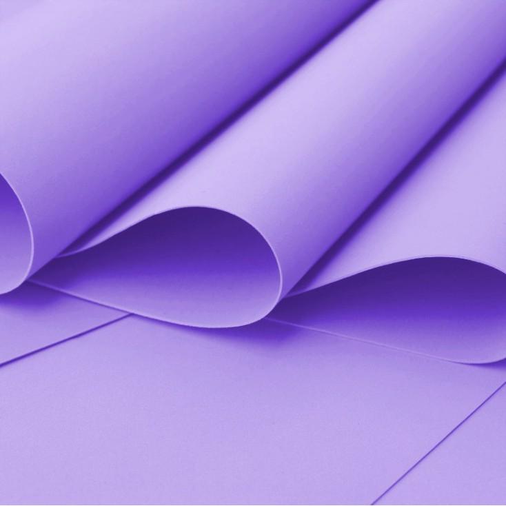 Foamiran, artistic foam - 0,6 mm - purple