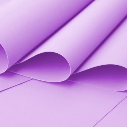 Foamiran, artistic foam - 0,6 mm - lilac