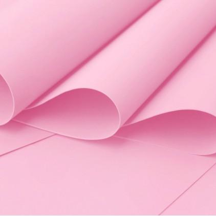 Foamiran, pianka artystyczna - 0,6 mm - różowa