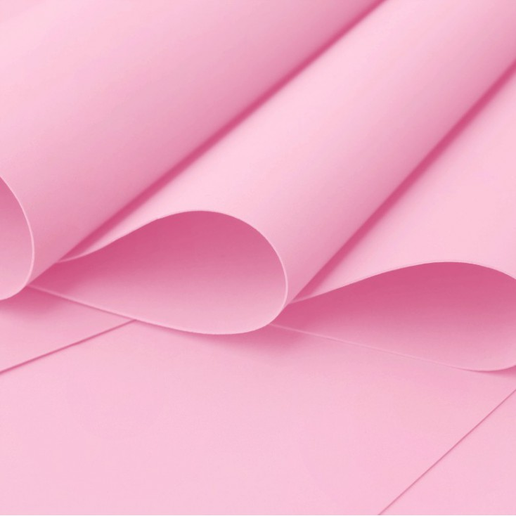 Foamiran, artistic foam - 0,6 mm - pink