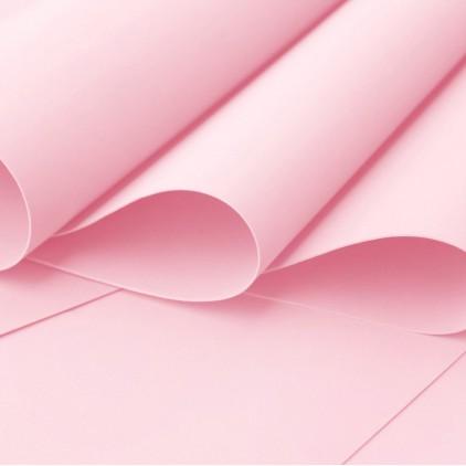 Foamiran, pianka artystyczna - 0,6 mm - jasny róż
