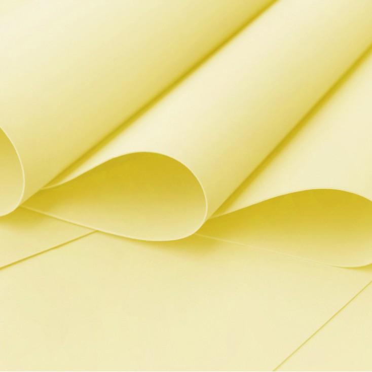 Foamiran, artistic foam - 0,6 mm - lemon