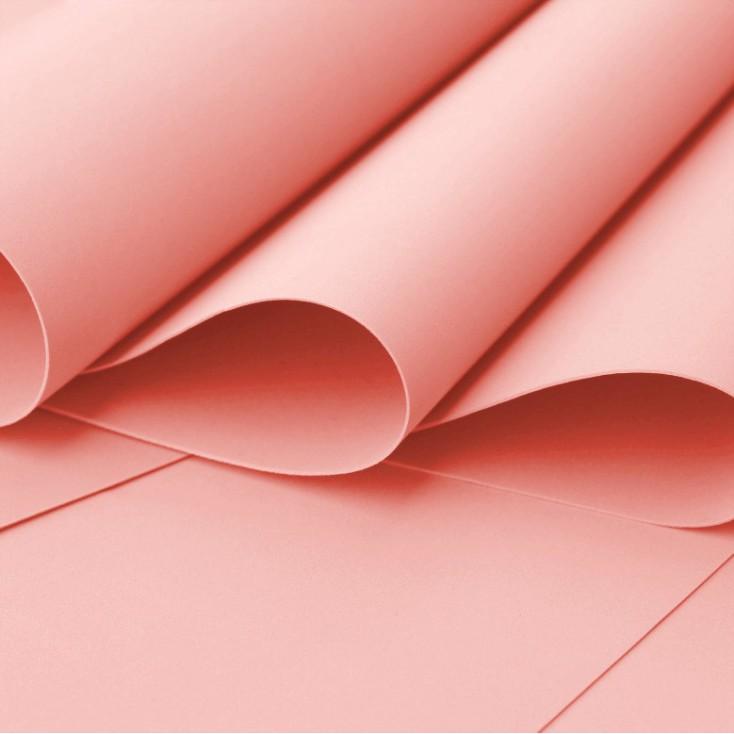 Foamiran, pianka artystyczna - 0,6 mm - brzoskwiniowa