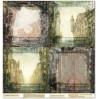 Scrapbooking paper - La Blanche - Fantasy 04