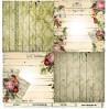 Scrapbooking paper - La Blanche - Vintage Flowers 03