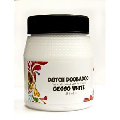 Gesso - Dutch Doobadoo - White - 250ml