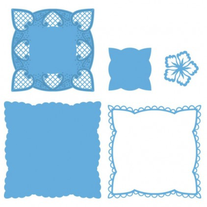 Marianne Design - Wykrojniki - Creatables Anja's squares LR0242