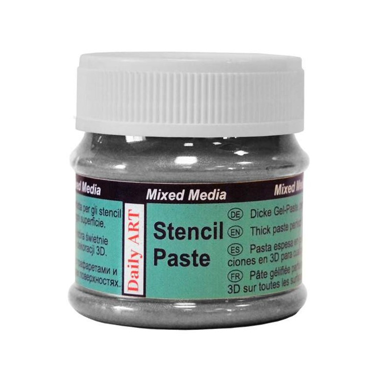 Stencil Paste - Daily Art - Pearl Black - 50ml