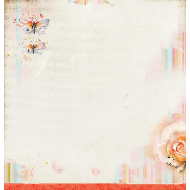 Scrapbooking paper - Studio Light - So Spring 01