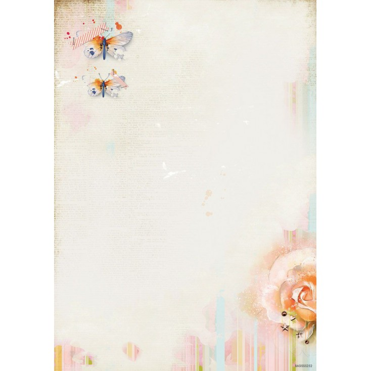 Papier do tworzenia kartek i scrapbookingu - Studio Light - So Spring BASISSS252