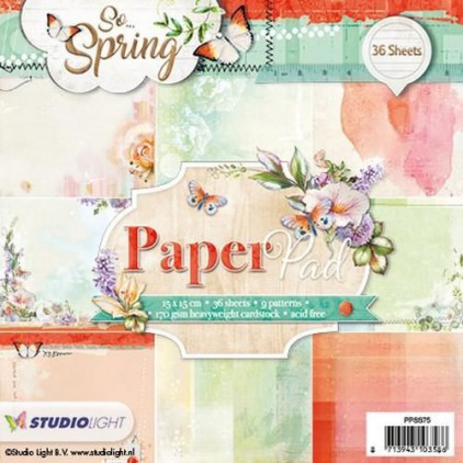 Studio Light - Paper block - So Spring PPSS75