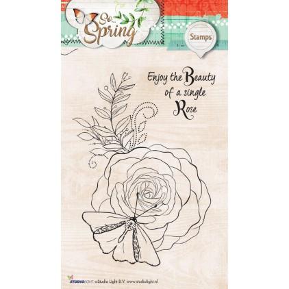 Przygotuj piękne obrazki w swoim albumie - Stempel / pieczątka - Stucio Light - So Spring 03