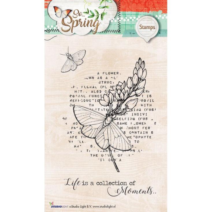 Przygotuj piękne obrazki w swoim albumie - Stempel / pieczątka - Stucio Light - So Spring 05