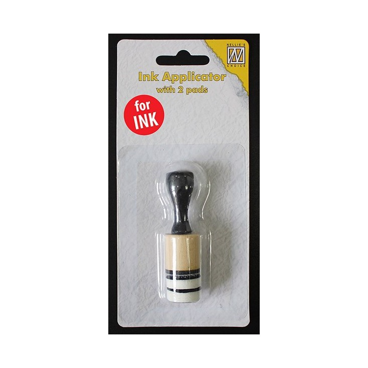 Ink applicator -small- round - 1 pcs