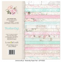 Pad of scrapbooking papers - Yesterday 6x6