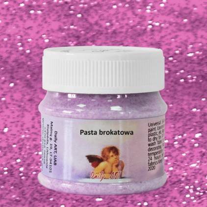 Pasta brokatowa - Daily Art - Fuksja - 50ml