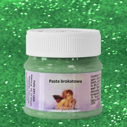 Pasta brokatowa - Daily Art - Zielona - 50ml