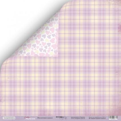 Scrapbooking paper - Scrap Mir - Daddy's Princess - Violet blanket