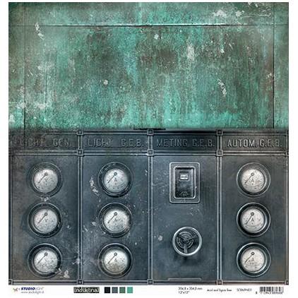 Scrapbooking paper - Studio Light - Industrial 1 - 02