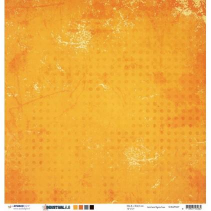 Papier do tworzenia kartek i scrapbookingu - Studio Light - Industrial 2 - 07
