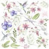 Scrapbooking paper - Fabrika Decoru - Wild orchid - Pictures for cutting