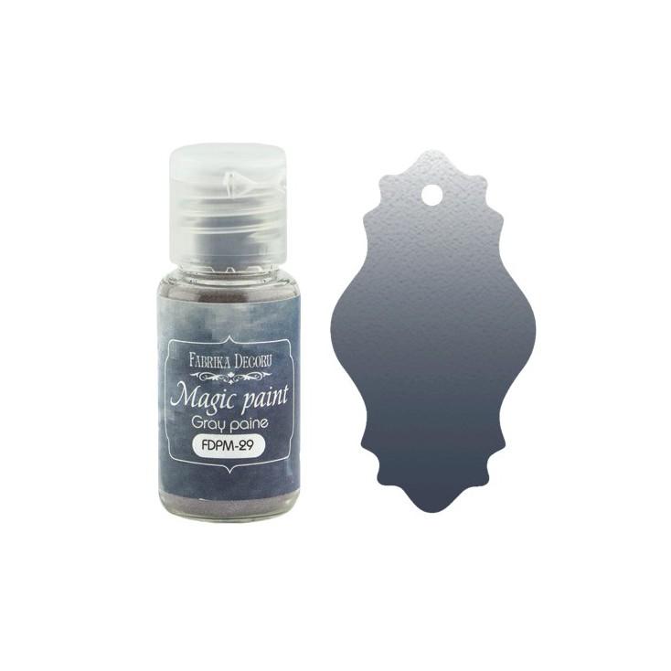 Magic, dry paint - Fabrika Decoru - gray paine - 15ml