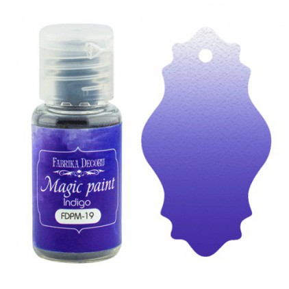 Magic, dry paint - Fabrika Decoru - indigo - 15ml