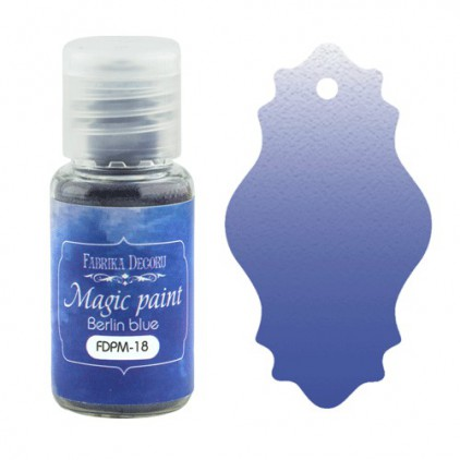 Magic, dry paint - Fabrika Decoru - Berlin blue - 15ml