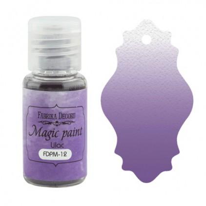 Magiczna farbka w proszku - Fabrika Decoru - liliowa - 15ml
