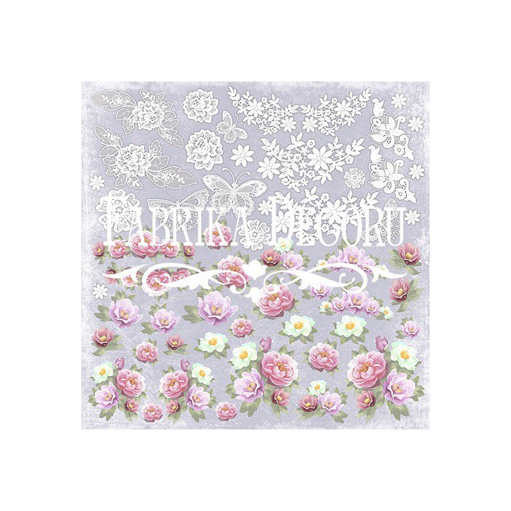 Scrapbooking paper - Fabrika Decoru - Shabby Dreams - Pictures for cutting
