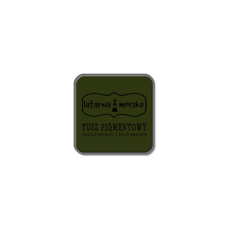 Pigment ink pad for stamping and embossing - olive