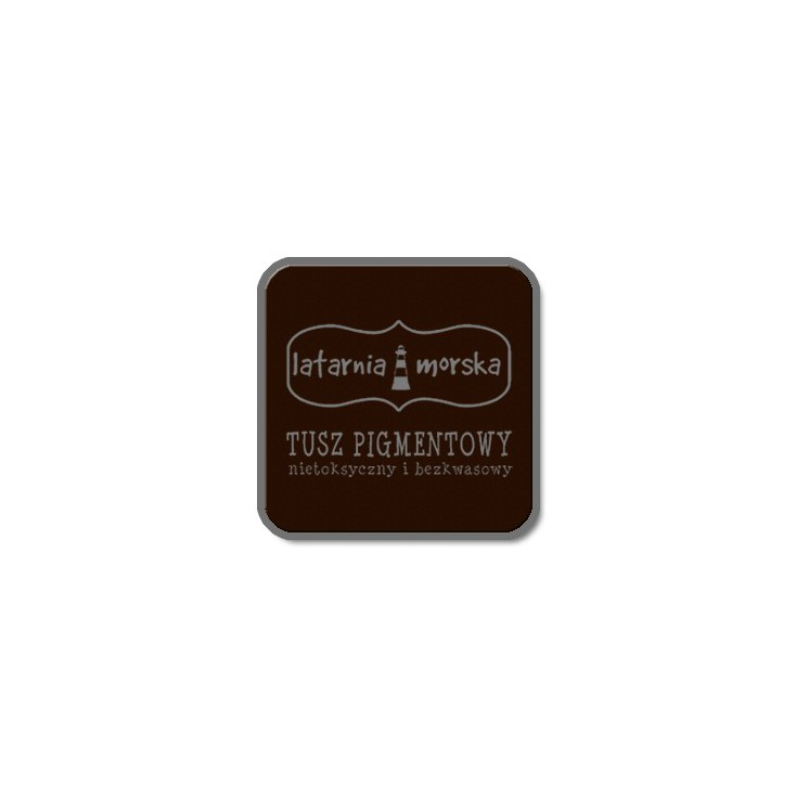 Pigment ink pad for stamping and embossing -dark chocolate