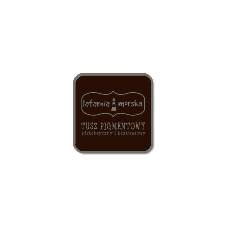 Tusz pigmentowy do stempli i embossingu -gorzka czekolda