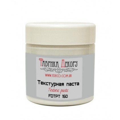 White texture paste - Fabrika Decoru - 150ml