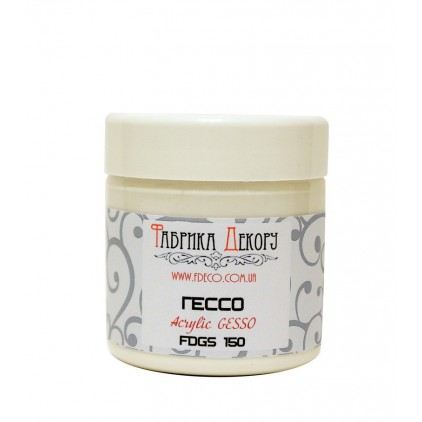 Whit gesso acrylic medium - Fabrika Decoru - 150ml