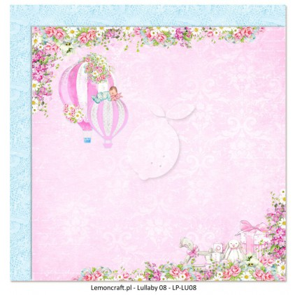Dwustronny papier do scrapbookingu - Lullaby 08