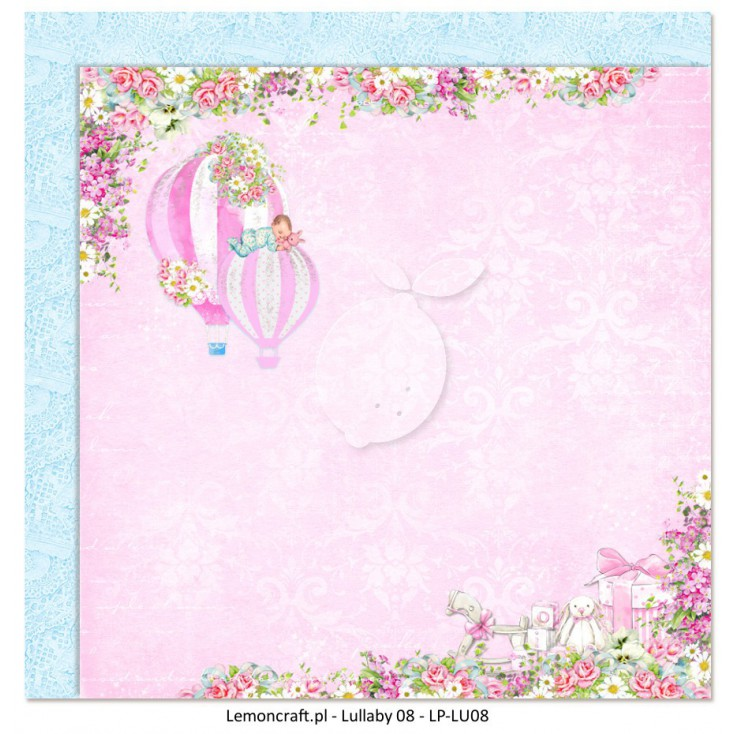 Double sided scrapbooking paper - Lullaby 08