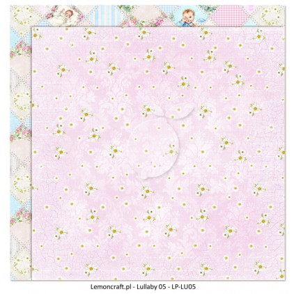 Dwustronny papier do scrapbookingu - Lullaby 05