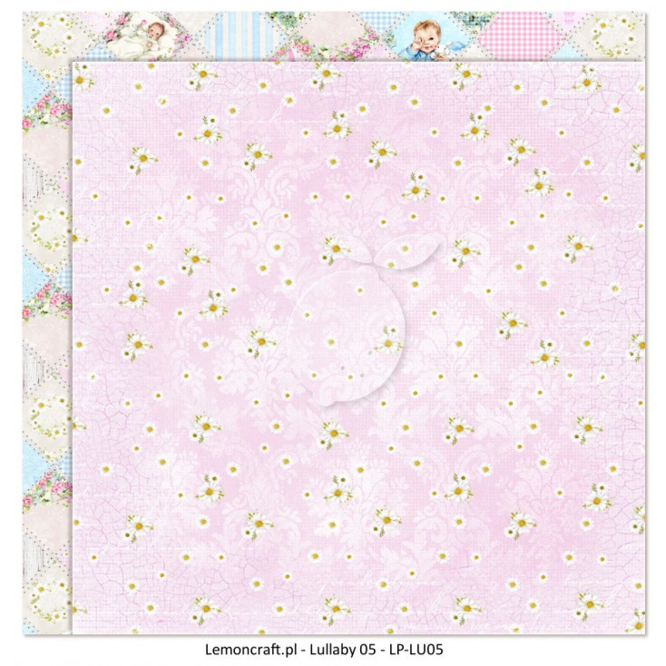 Double sided scrapbooking paper - Lullaby 05