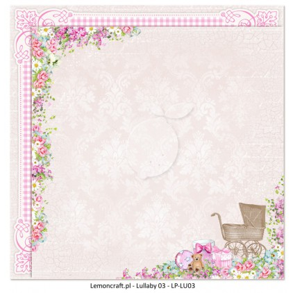 Double sided scrapbooking paper - Lullaby 03